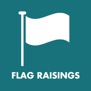 Flag Raisings