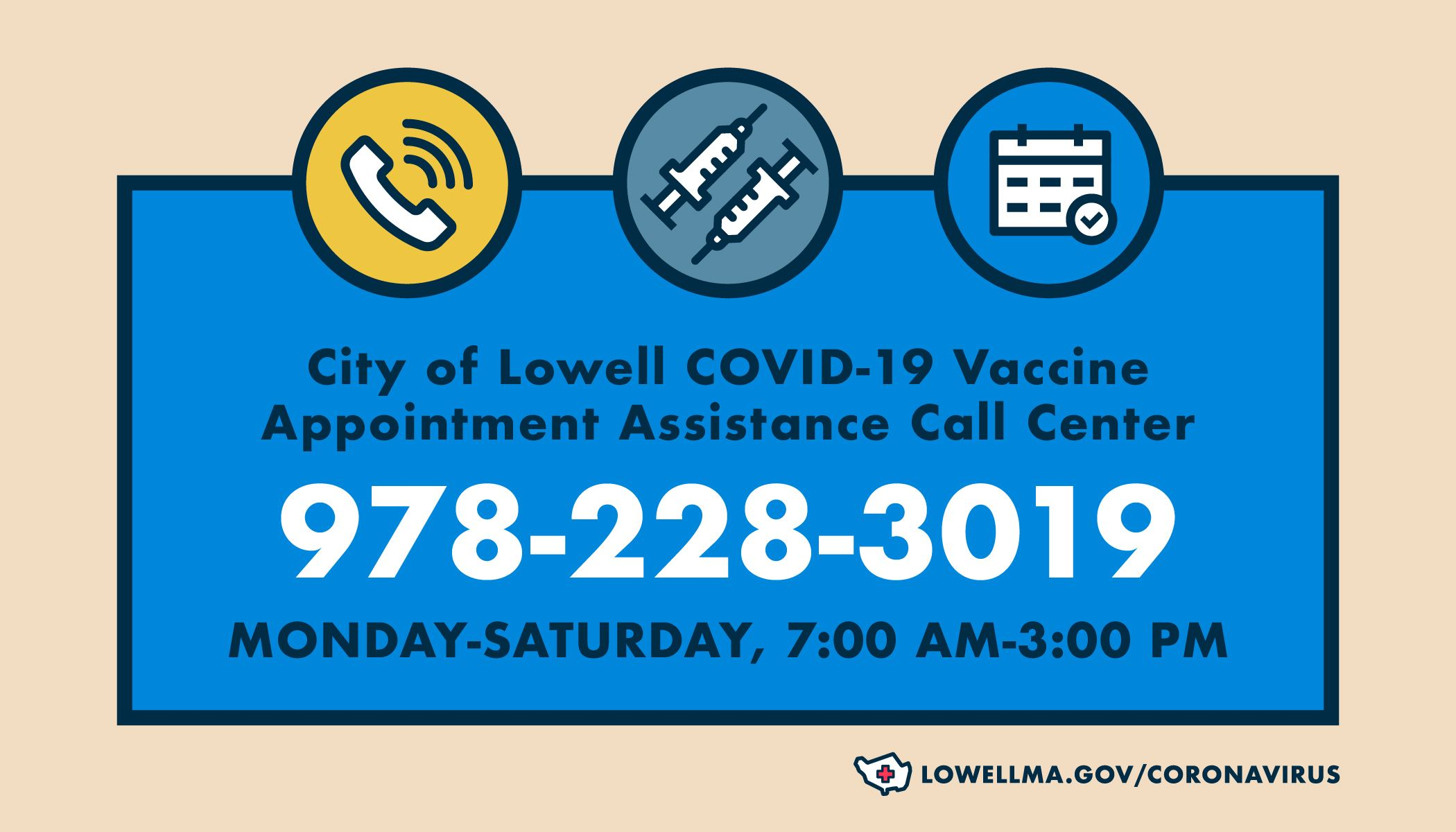 Vaccine Appointment Call Center