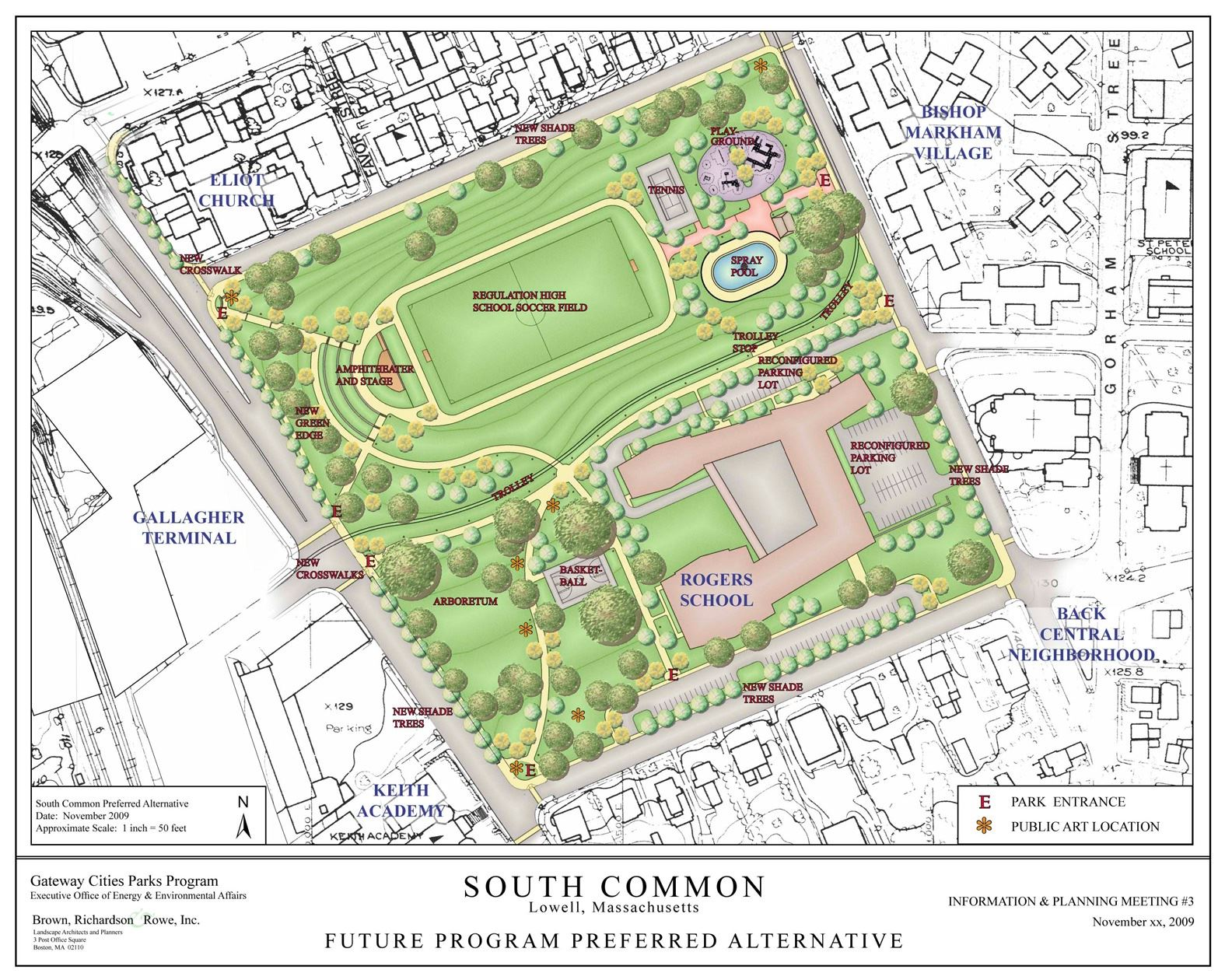 South Common Plan map rendition