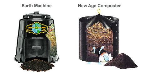 Earth Machine and New Age Composter