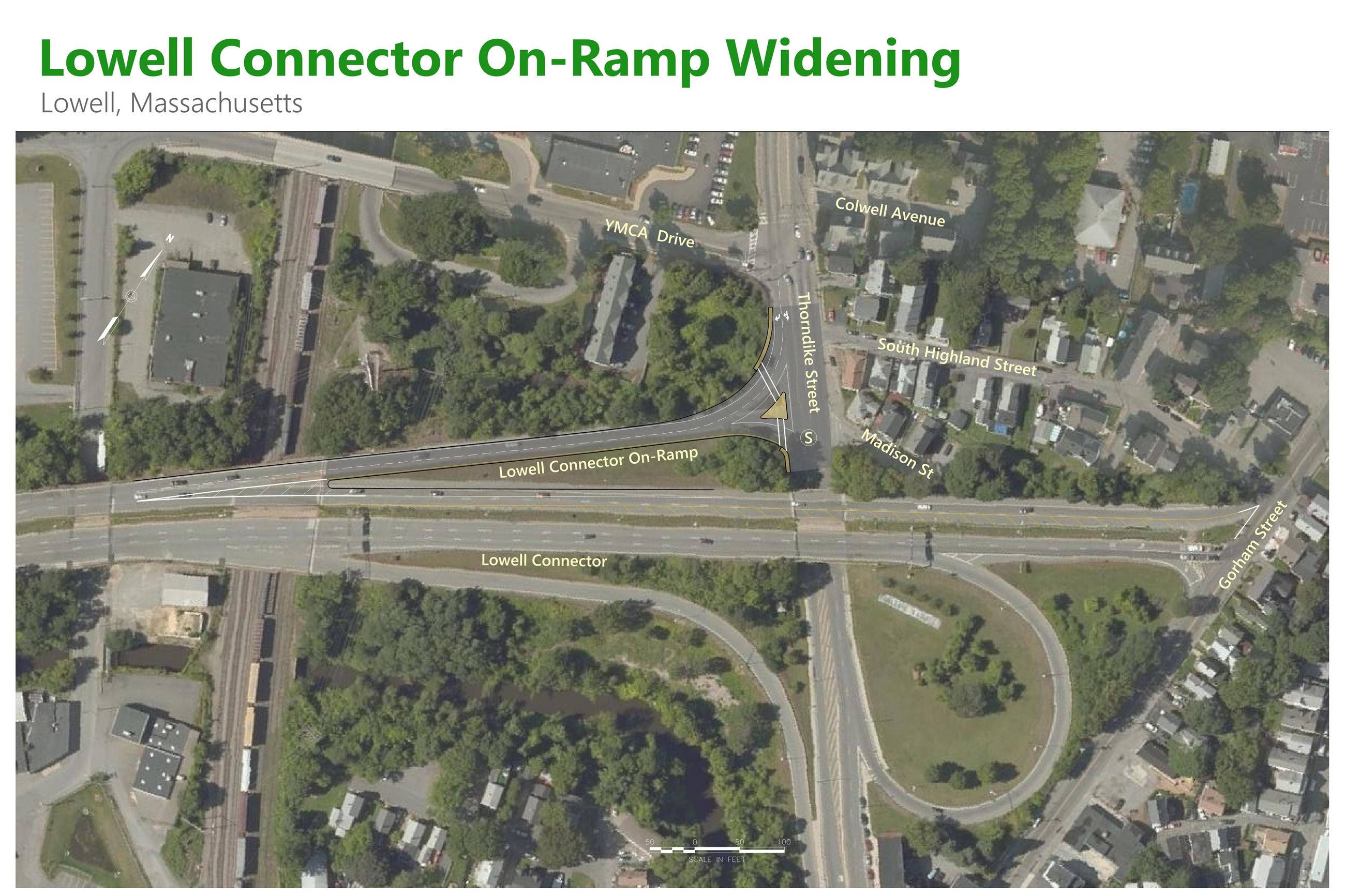 Lowell Connector Ramp-BOARD