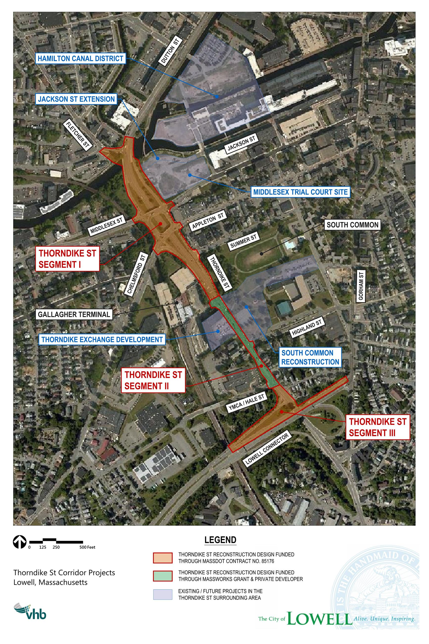 Thorndike St Corridor Projects
