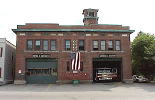The fron of West 6th Fire Station