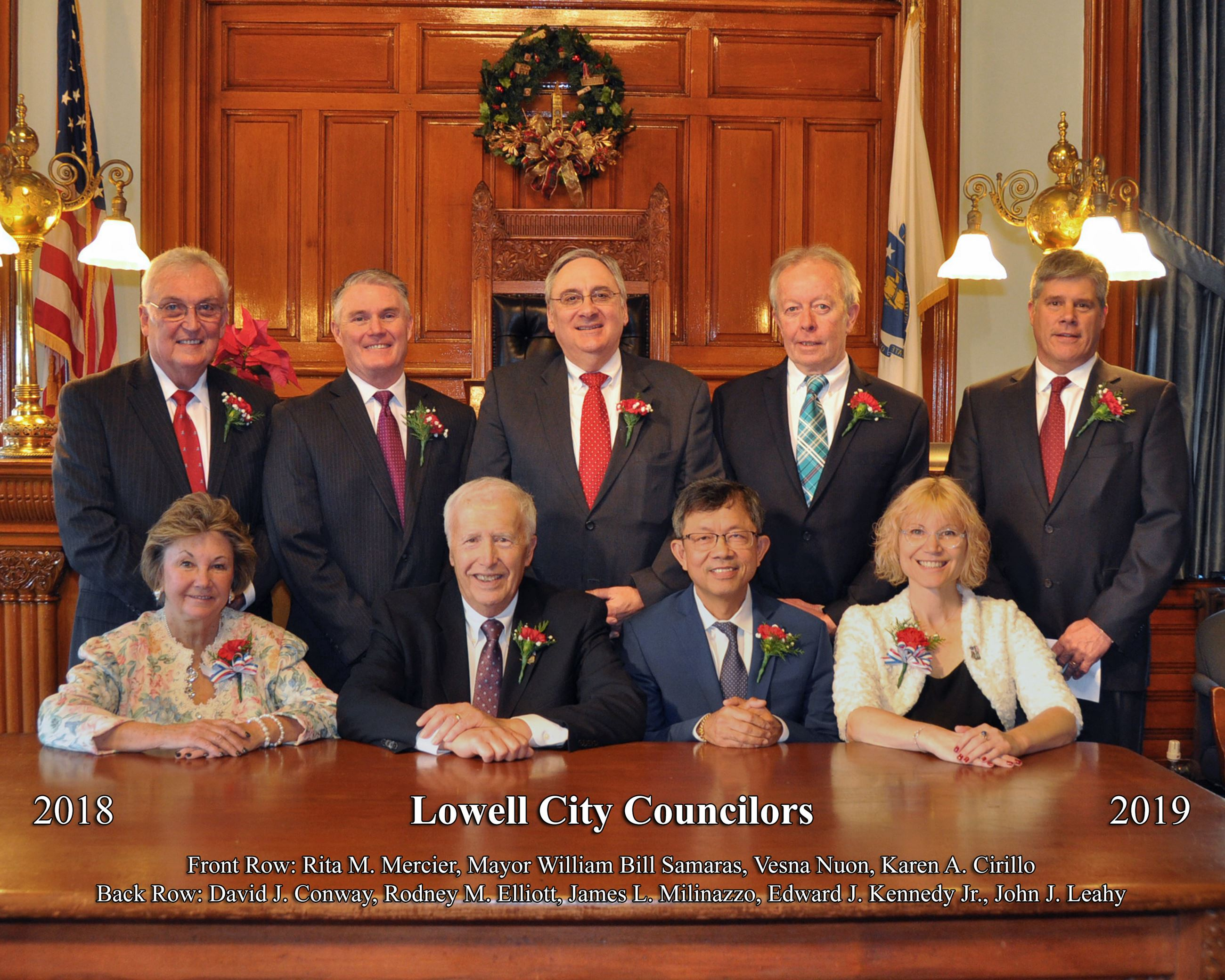 2018 Lowell City Council