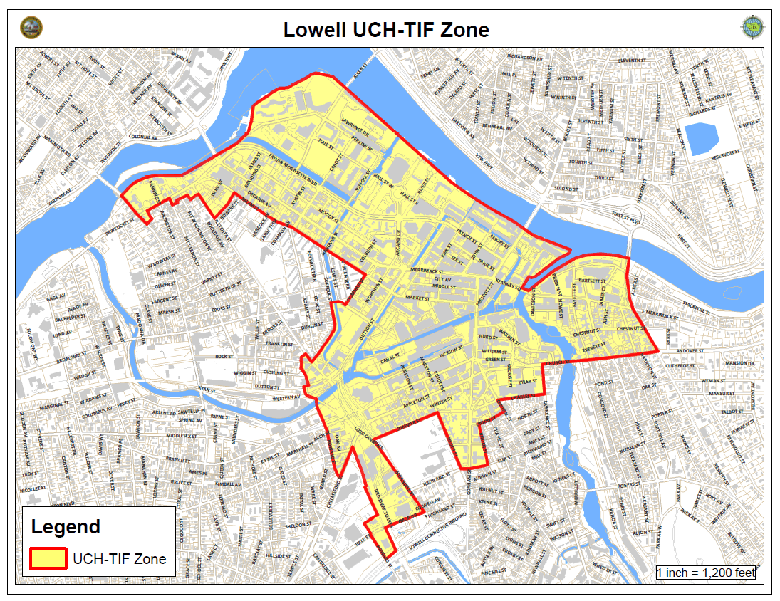 UCH-TIF Zone Map