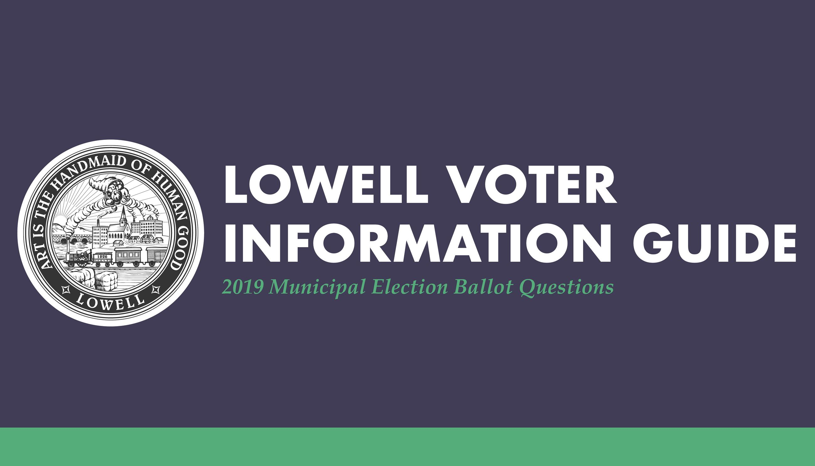 Lowell Voter Information Guide Graphic