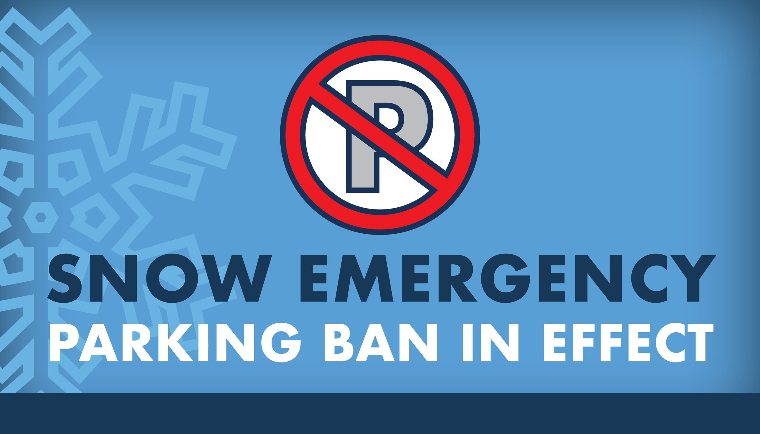 Parking Ban Active Graphic