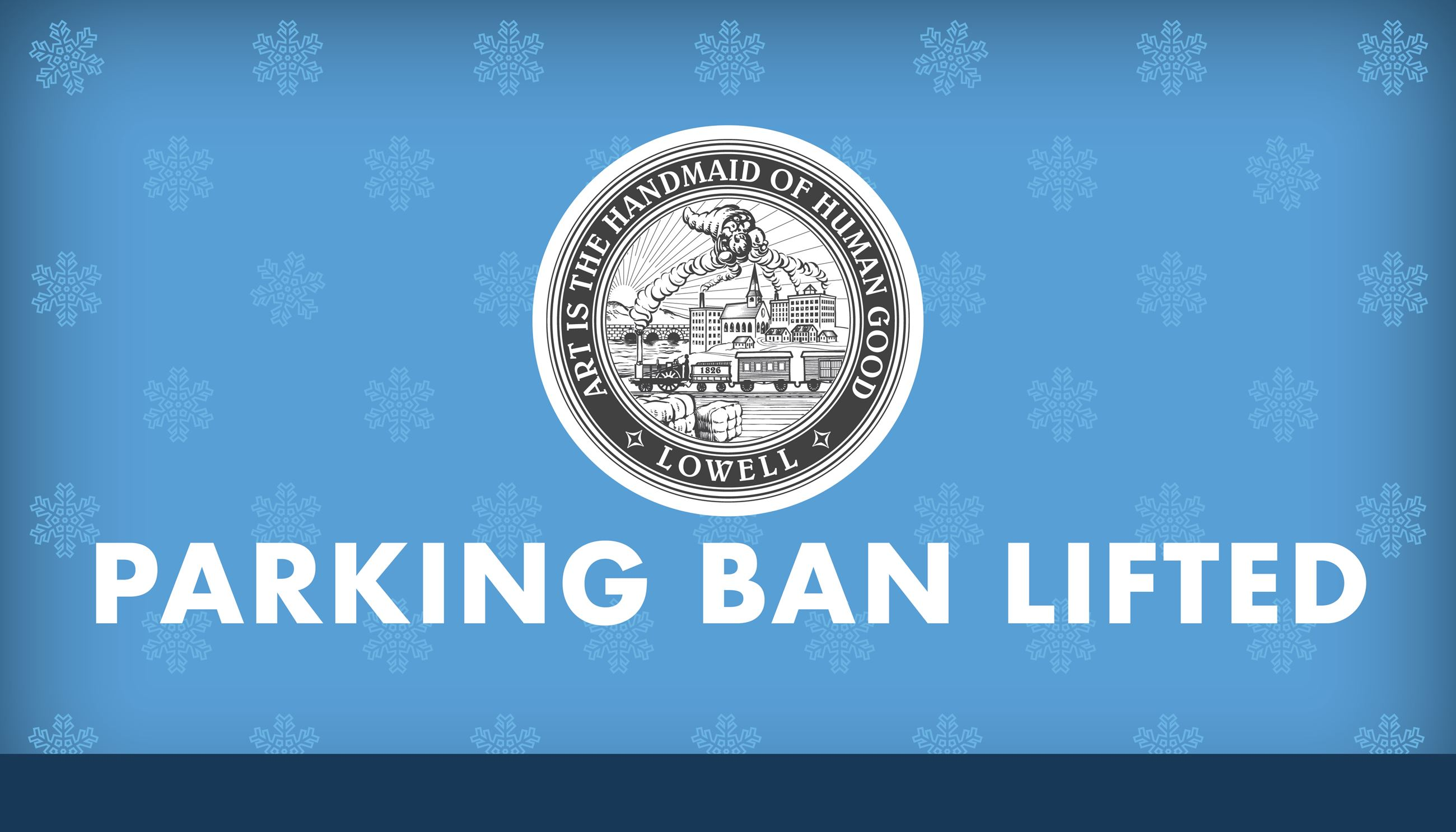 Parking Ban Lifted Graphic