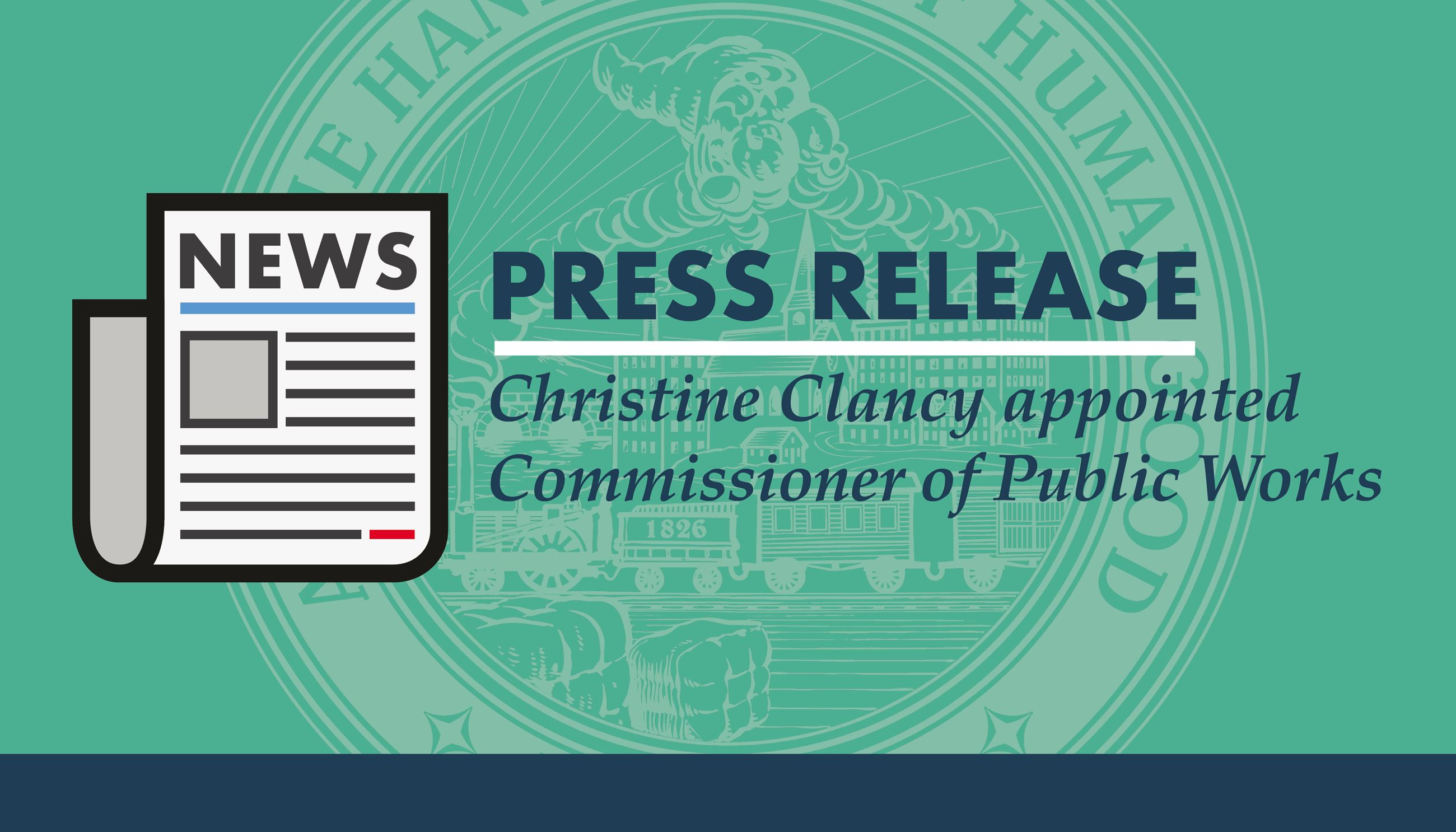 DPW Commissioner Press Release Graphic