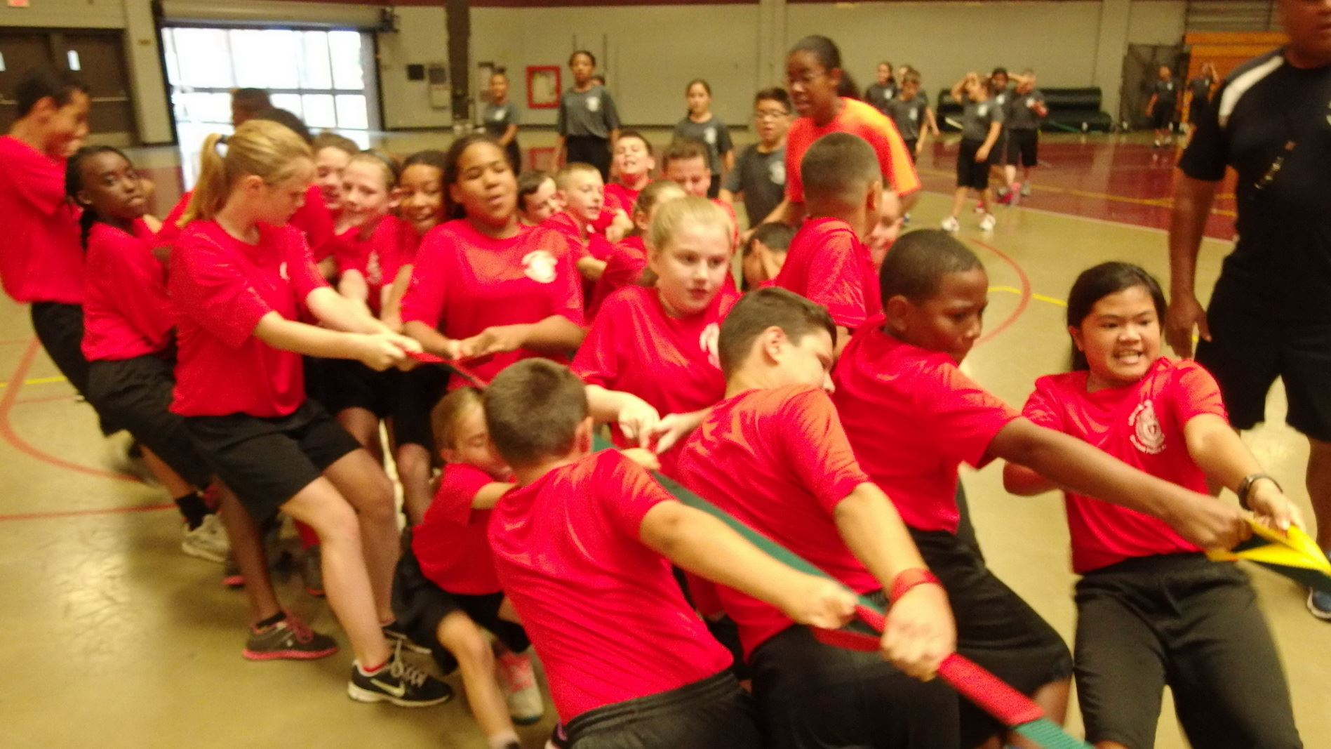 Tug of War During the Student Police Academy